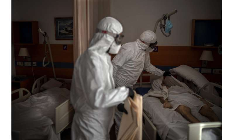 Europe battles surge in coronavirus deaths in nursing homes thumbnail
