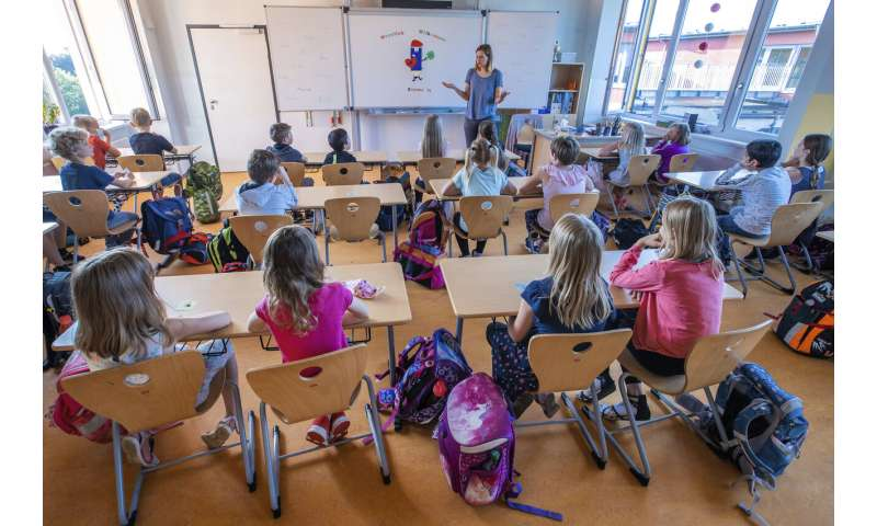 Europe is going back to school despite recent virus surge