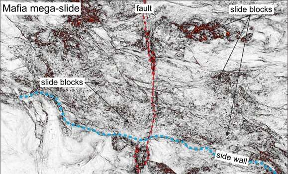 Evidence from one of Earth's biggest underwater landslides ever sheds light on East African rifting