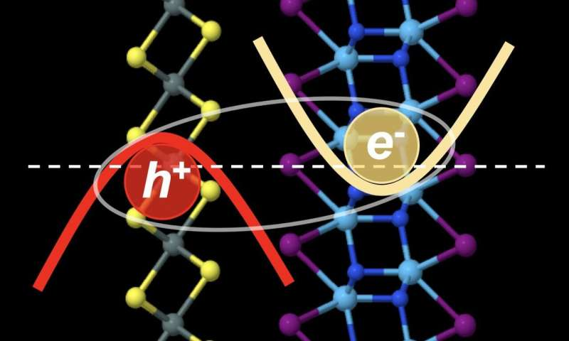 Excitons form superfluid in certain 2D combos