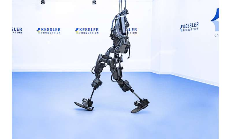 Exoskeleton-assisted walking improves mobility in individuals with spinal cord injury