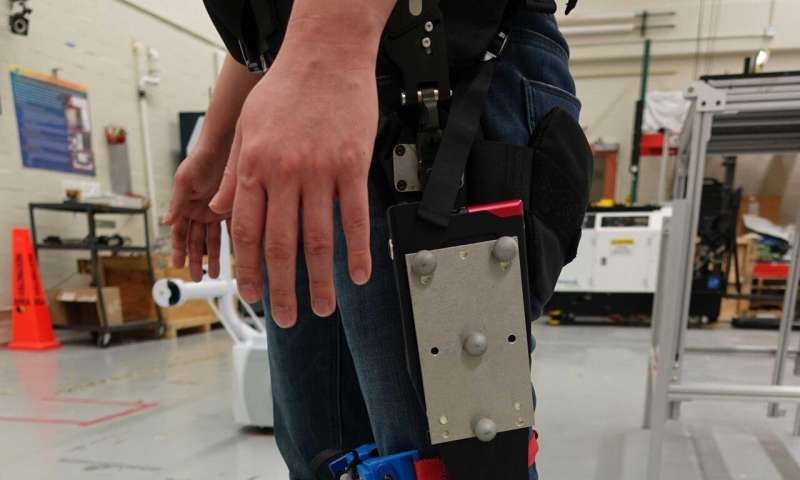 Exoskeleton research marches forward with NIST study on fit