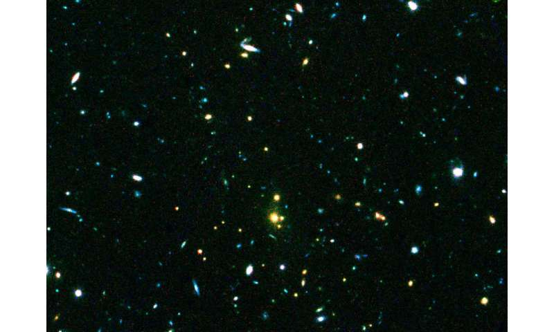 Expert discusses clearest image known of a cluster of galaxies from 10 billion years ago