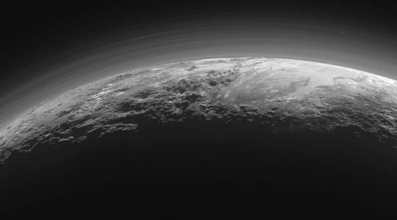 Explaining glaciers of solid methane and nitrogen on Pluto