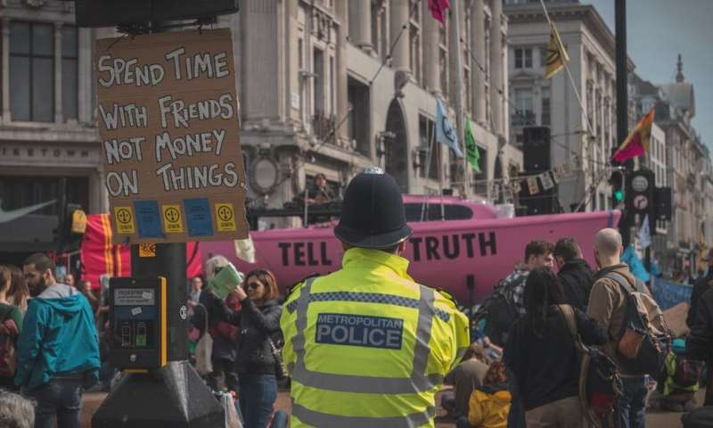 Extinction Rebellion: 'terror threat' is a wake-up call for how the state treats environmental activism