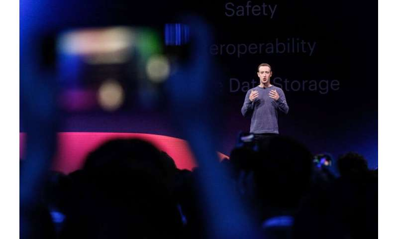 Facebook, whose CEO Mark Zuckerberg is seen here, has defended the use of strong encryption on its services