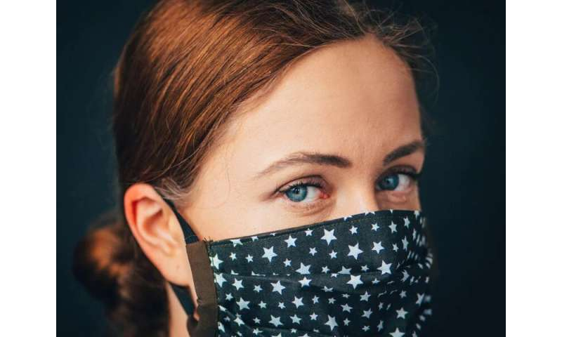 Face-mask use may mitigate spread of COVID-19