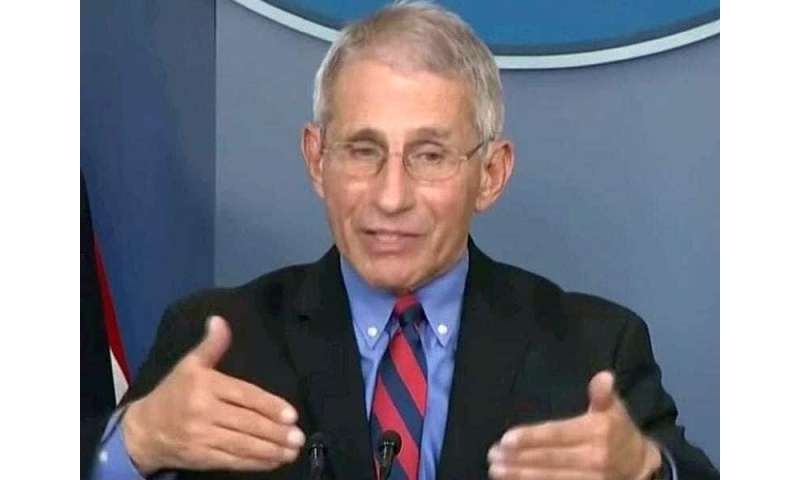 Fauci says any COVID-19 vaccine would be in plentiful supply by 2021