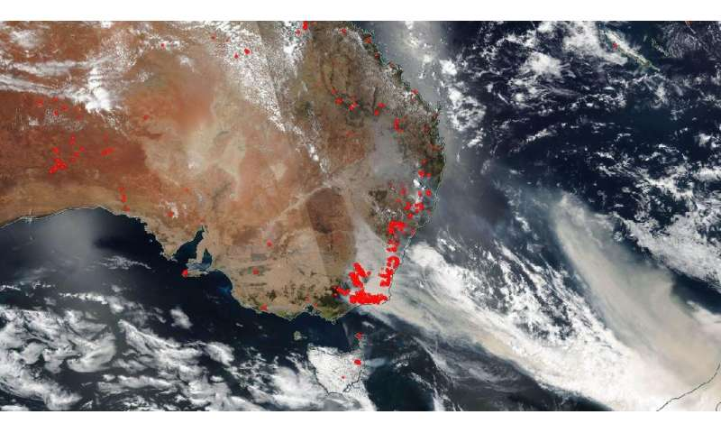Ferocious fires in Australia intensify