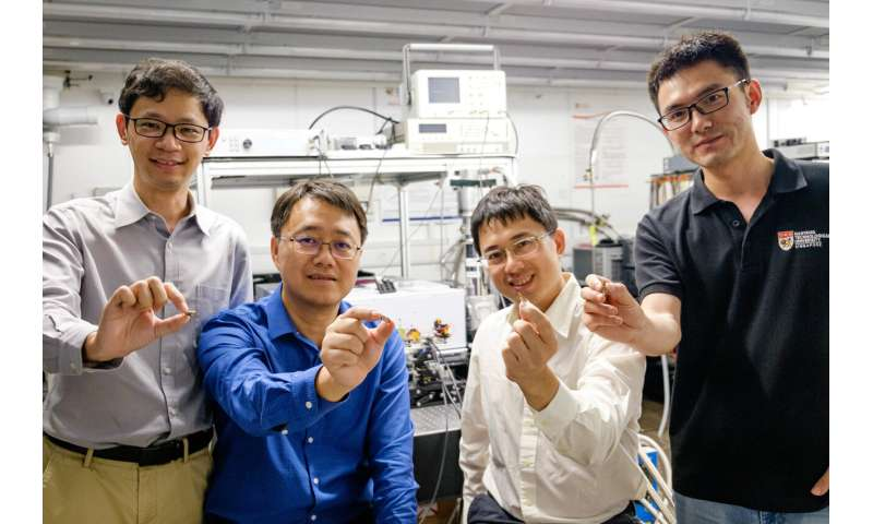 First electrically-driven 'topological' laser developed by Singapore and UK scientists