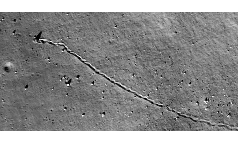 First global map of rockfalls on the Moon