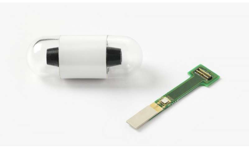 First millimeter-scale wireless transceiver for electronic pills