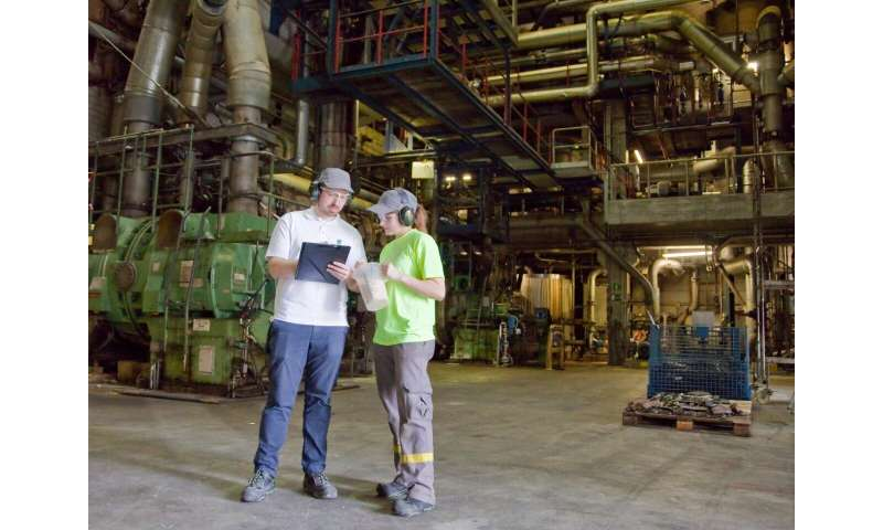 Flexible power consumption for production facilities