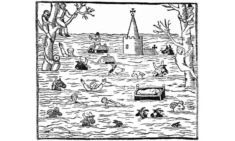 Flood data from 500 years: Rivers and climate change in Europe