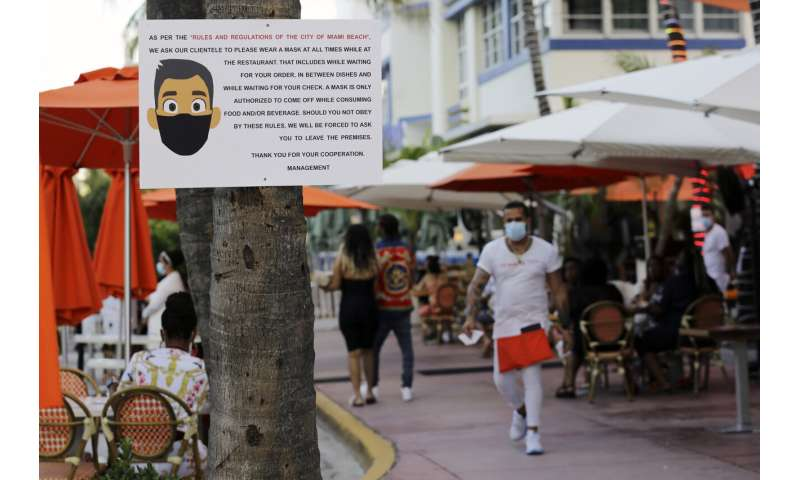 Florida overtakes NY State in coronavirus cases, adds 9,300