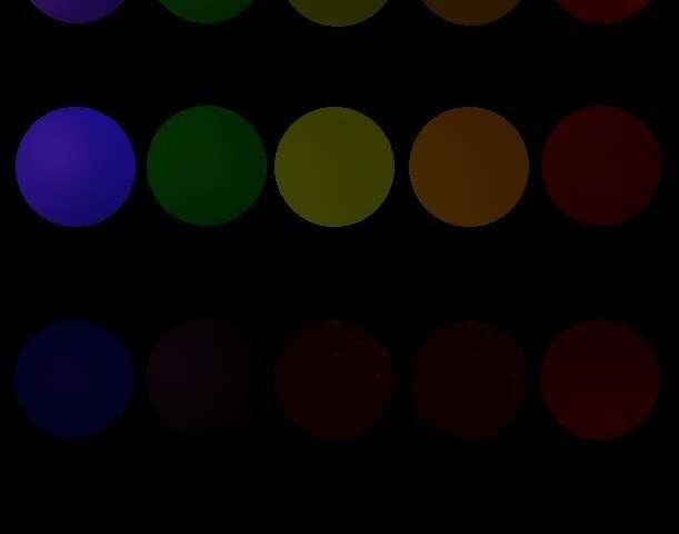 Fluorescent peptide nanoparticles, in every color of the rainbow