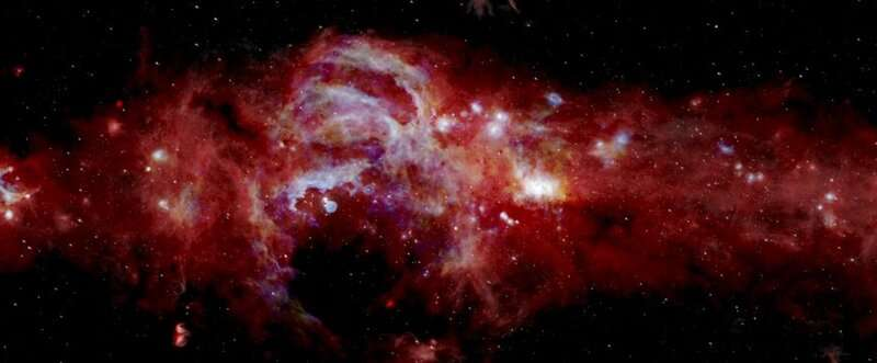 Flying observatory maps the Milky Way