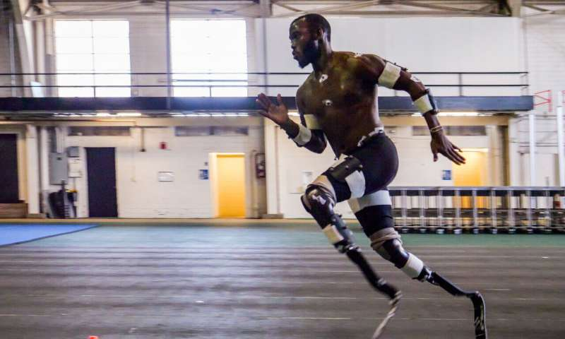 For 'blade runners' taller doesn't necessarily mean faster