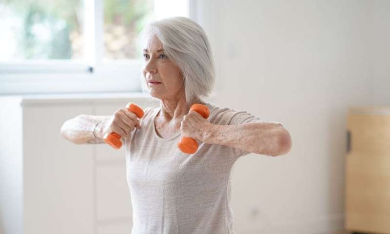 For older people and those with chronic health conditions, staying active at home is extra important – here's how
