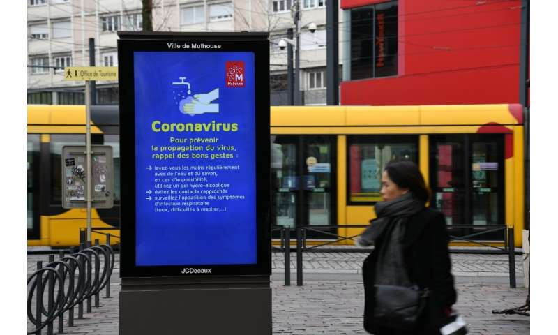 France is the second worst coronavirus affected European country after its neighbour Italy