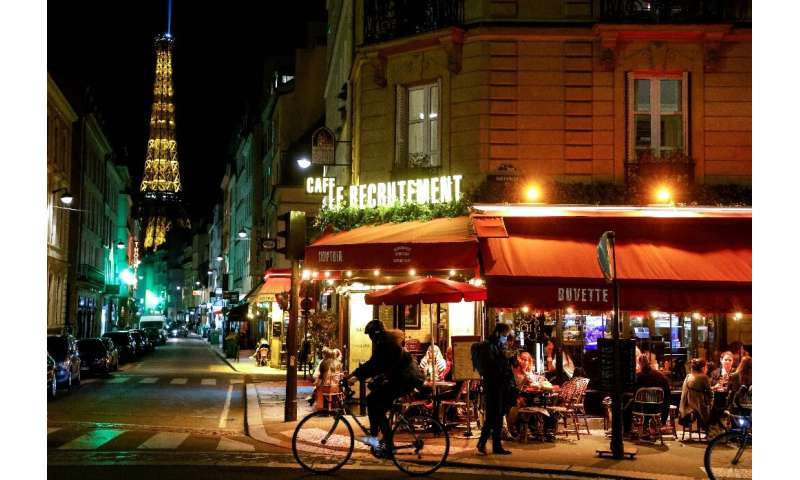 French cafes and restaurants will close under the new month-long national lockdown announced by President Emmanuel Macron.