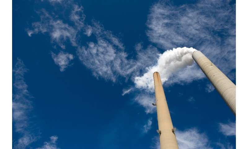 French company Alstom unveiled the world's largest carbon capture facility at a West Virginia coal plant