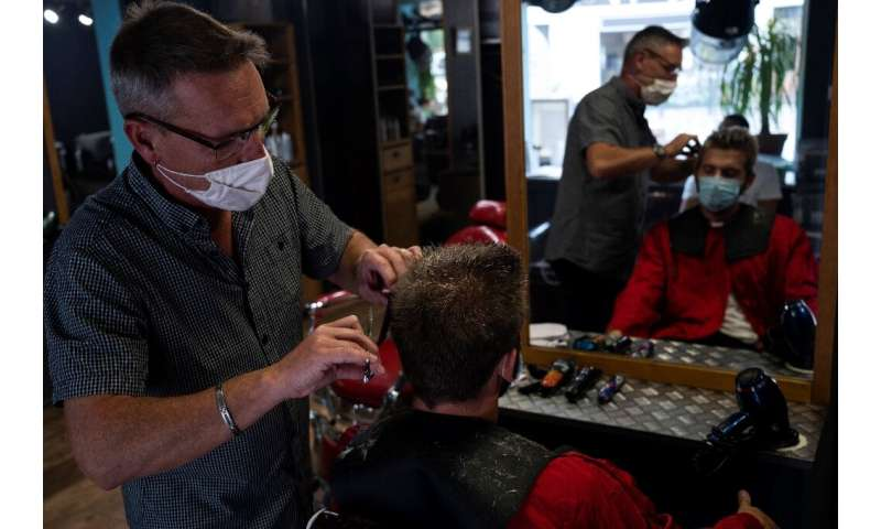 French hairdresser Thierry Gras hopes to contribute to the fight against ocean pollution