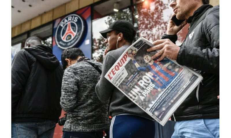 French Sports daily L'Equipe has suffered badly with the loss of competition at home and around the world