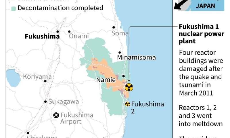 Fukushima evacuation zone