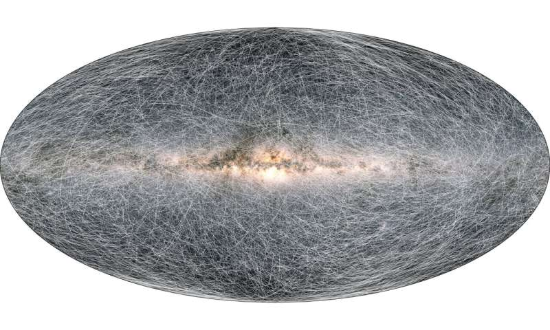 Gaia's new data takes us to the Milky Way's anticentre and beyond