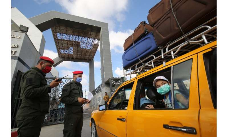 Gaza residents were unable to cross the border with Egypt for months