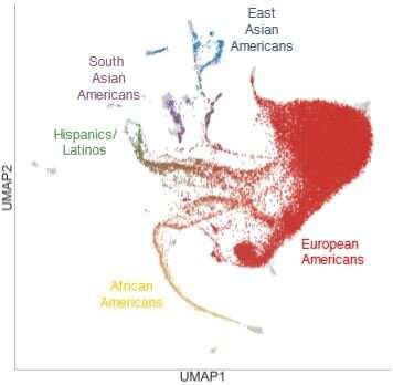 Genetic study offers comprehensive and diverse view of recent US population history