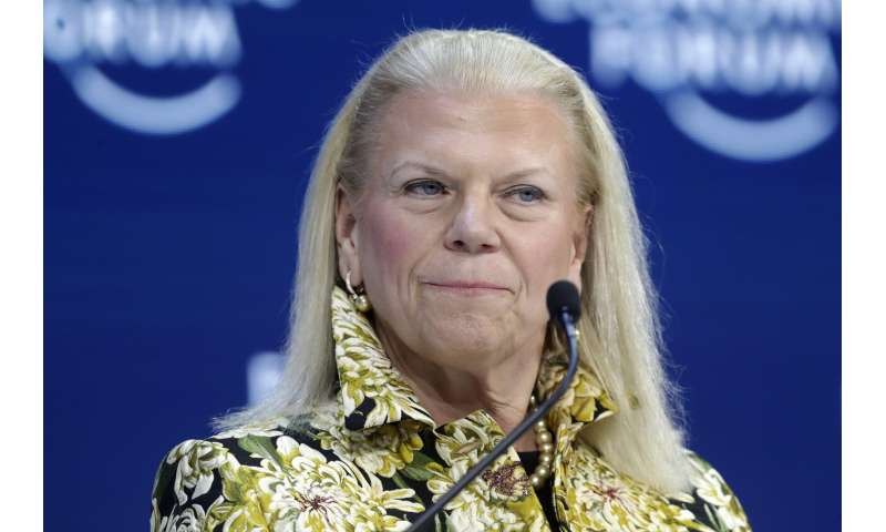 Ginni Rometty, 1st female CEO at IBM, to step down in April