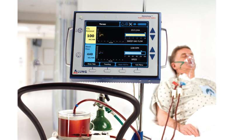 Giving distressed lungs a safer fighting chance