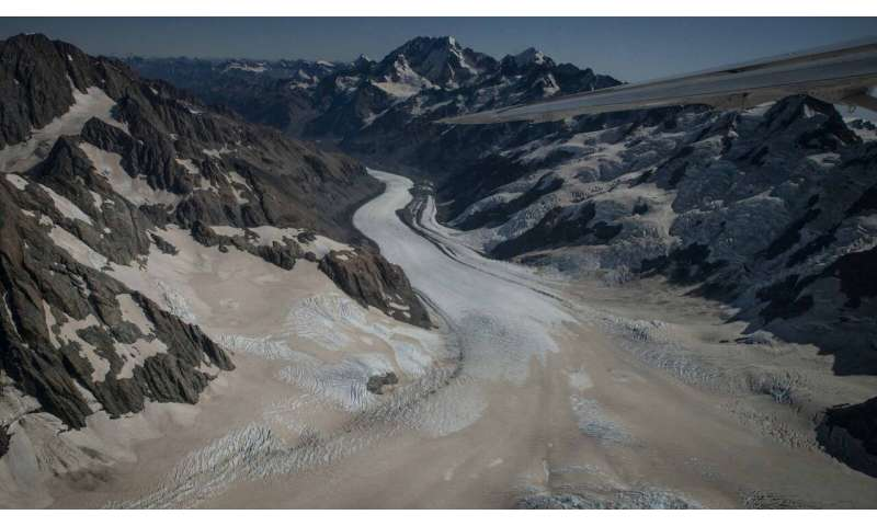 Glacier loss likely to continue