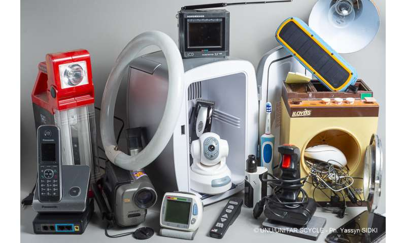 Global e-waste surging: Up 21% in 5 years