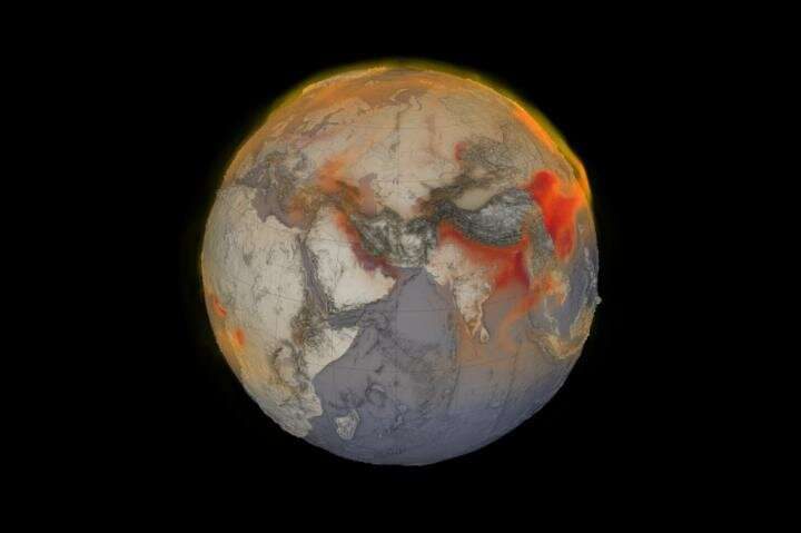 Global methane emissions soar to record high
