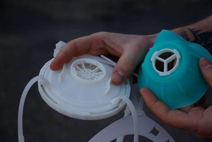 Global team develops open-source N95 respirator