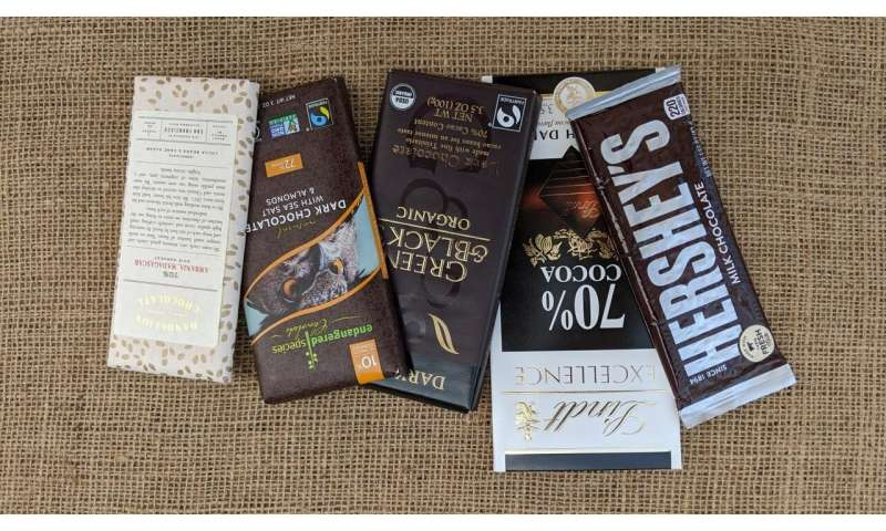 Golden ticket: Researchers examine what consumers desire in chocolate products