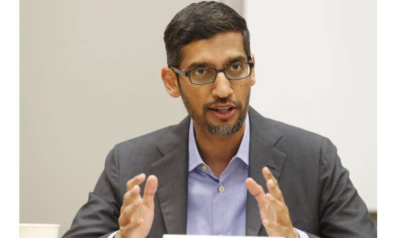 Google announces $10 billion 'digitization' fund for India