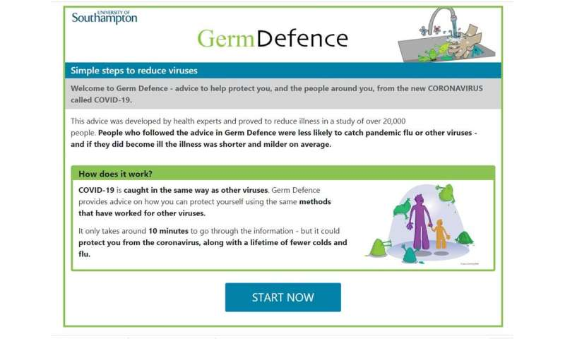 Handy website awash with ways to protect you from coronavirus – COVID-19