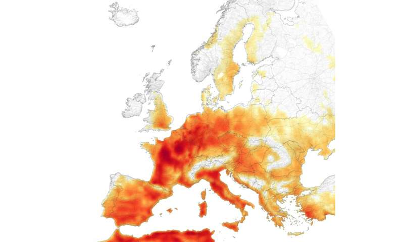 Heat stress may affect more than 1.2 billion people annually by 2100
