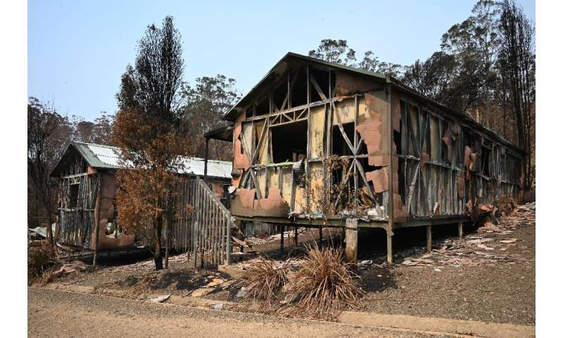 Heavy rain is forecast for parts of bushfire-hit Australia, but it is too late for some places