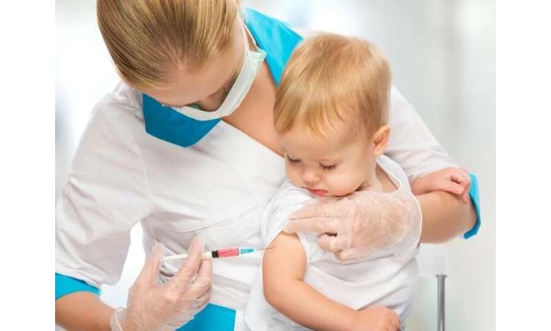 Hexavalent vaccine included in vaccines for children program