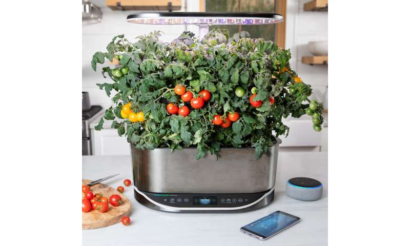 High-tech growing systems bring joy of gardening indoors