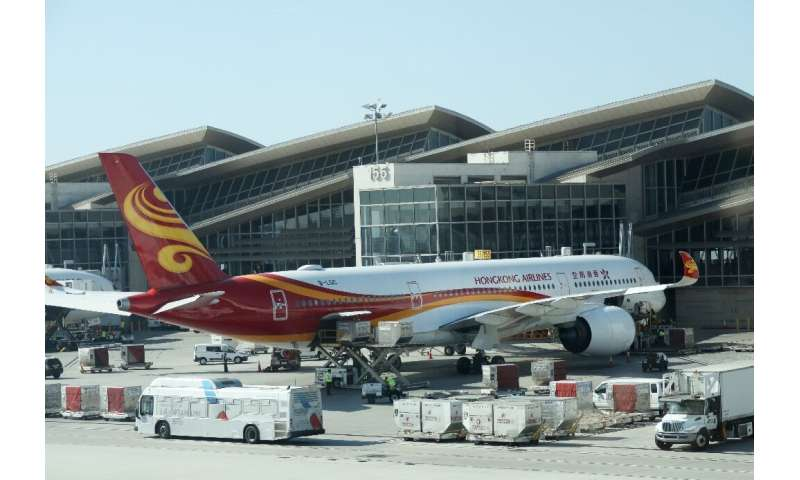Hong Kong Airlines was already struggling with weak demand owing to months of protests in the city that hit the tourism sector