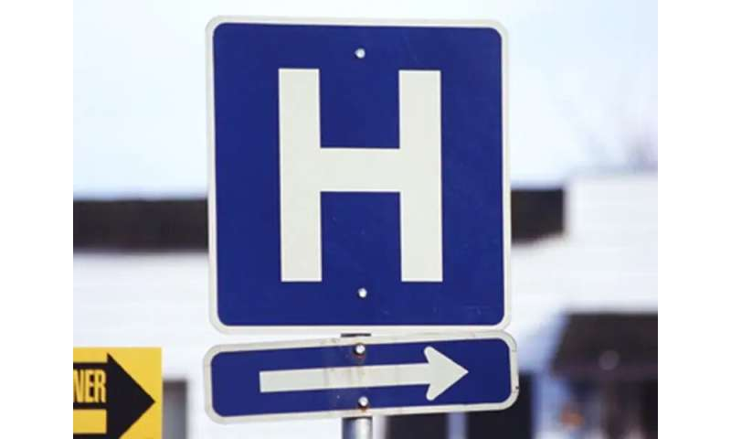 Hospital admissions not related to COVID-19 fell in early 2020