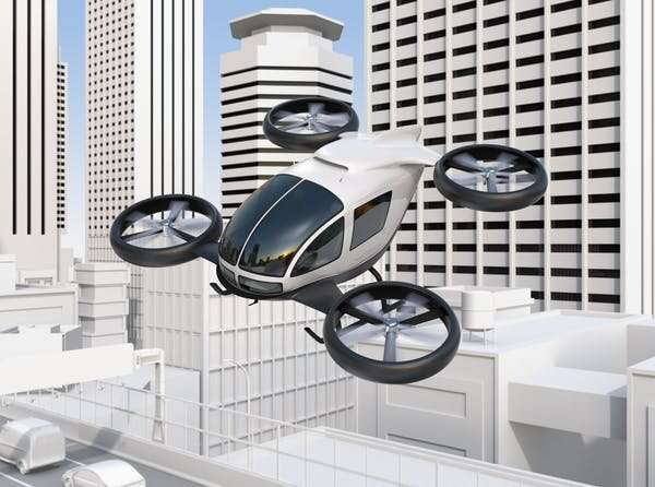 How drones and aerial vehicles could change cities