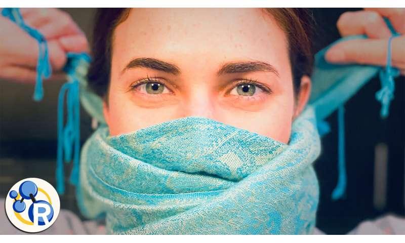 How effective are cloth masks against coronavirus? (video)