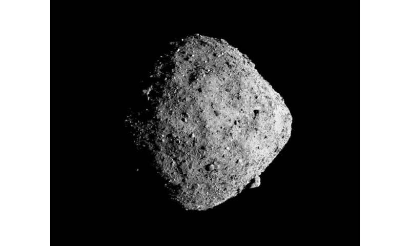 How small particles could reshape Bennu and other asteroids
